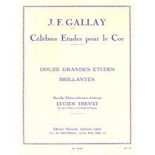 GALLAY J.F. Célèbres Etudes pour le Cor