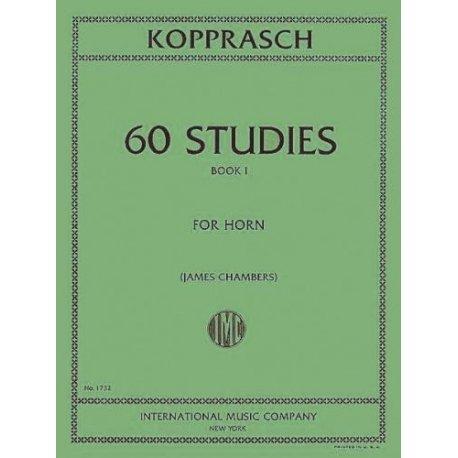 KOPPRASCH C. 60 studies Book 1