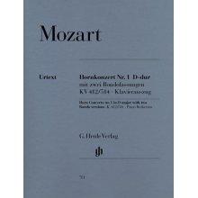 MOZART W.A. Hornkonzert Nr.1 D-dur KV412-514