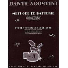AGOSTINI D. Méthode de Batterie vol.3