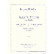DELECLUSE J. Trente Etudes pour Timbales (1er Cahier)