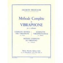 DELECLUSE J. Méthode Complète de Vibraphone (1er Volume)