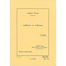 BOZZA E. Andante et Scherzo pour quatour de saxophones