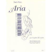 BOZZA E. Aria (Sax Alto et Piano)