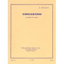 BOZZA E. Concertino pour Saxophone Alto et Orchestre