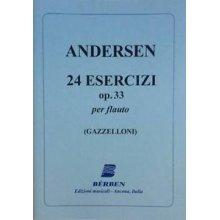 ANDERSEN 24 Esercizi Op.33 per Flauto (Gazzelloni)