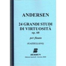 ANDERSEN 24 grandi Studi di virtuosità op.60 (Gazzelloni)