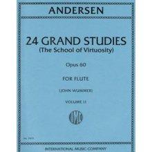 ANDERSEN 24 Grand Studies Op.60 Vol.II (Wummer)