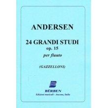 ANDERSEN 24 Grandi Studi op.15 per Flauto (Gazzelloni)