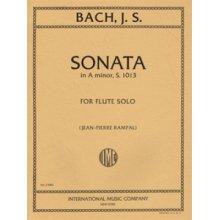 BACH J.S. Sonata in A minor for Flute Solo (Rampal)