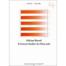 BONSEL A. 8 concert studies for Flute solo