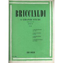 BRICCIALDI 6 Grandi Studi per Flauto (Vinci)