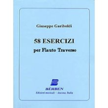 GARIBOLDI 58 Esercizi per flauto traverso