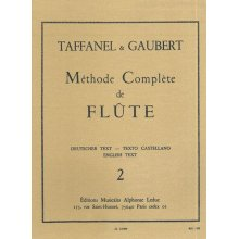 TAFFANEL-GAUBERT Méthode Complète de Flute