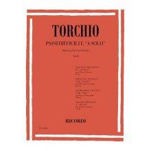 """TORCHIO Passi Difficili e """"A solo"""" per Flauto e ottavino Vol.2"""