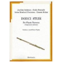 AA.VV. Dodici Studi per Flauto Traverso (Vigorito)