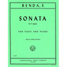 BENDA F. Sonata in F major for Flute and Piano (Munclinger)