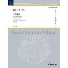BOEHM T. Elégie pour Flute et Piano Lab majeur opus 47 (Delius)