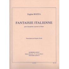 BOZZA E. Fantaisie Italienne pour Flute et Piano