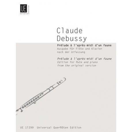 DEBUSSY C. Prélude à l'après-midi d'un faune (Flauto e Piano)