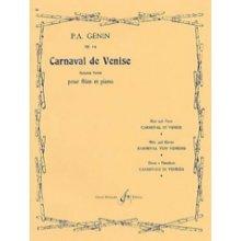 GENIN P.A. Carnaval de Venise op.14 pour flute et piano