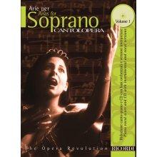 CANTOLOPERA Arie per Soprano Vol.1