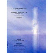 MENDELSSOHN F. Rondo capriccioso op.14 (flute et piano - Bou)