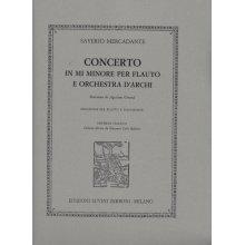 MERCADANTE S. Concerto in Mi minore per Flauto e Orchestra d'archi