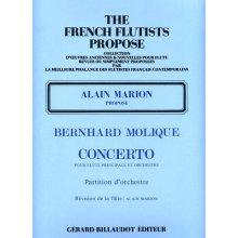 MOLIQUE B. Concerto pour Flute et Orchestre