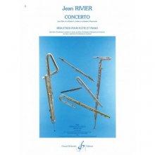 RIVIER J. Concerto pour Flute