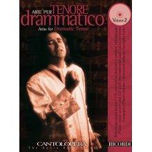CANTOLOPERA Arie per Tenore drammatico Vol.2