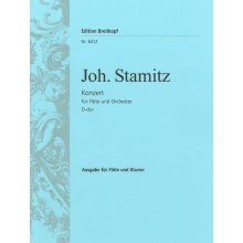 STAMITZ J. Konzert fur Flote und Orchester D-dur