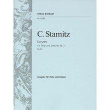 STAMITZ K. Konzert fur Flote und Streichorchester Nr.3