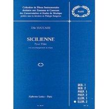 SUCCARI D. Sicilienne Pour Flute avec Piano