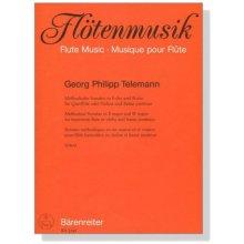 TELEMANN G.P. Methodische Sonaten in E-dur und B-dur