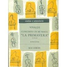 """VIVALDI A. Concerto in Mi Maggiore """"La Primavera"""" op.VIII (Flauto e Piano)"""