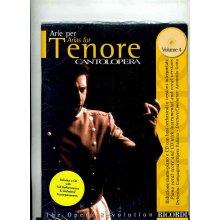 CANTOLOPERA Arie per Tenore Vol.4
