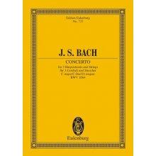 BACH J.S. Cembalo-Konzerte BWV1064 fur drei Cembali, Streicher und Basso continuo