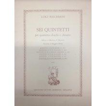 BOCCHERINI L. Quintetto VI in Sol Maggiore G.450 (parti staccate)