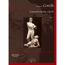 CORELLI A. Concerti Grossi op.VI (vol.1 1-6) partitura +CD