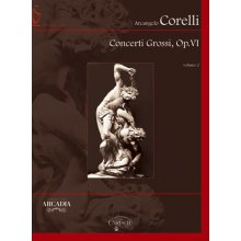 CORELLI A. Concerti Grossi op.VI (vol.2 7-12) partitura +CD