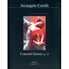 CORELLI A. Concerti Grossi op.VI (vol.1 1-6) parti staccate e partitura
