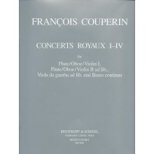 COUPERIN F. Concerts Royaux 1-4