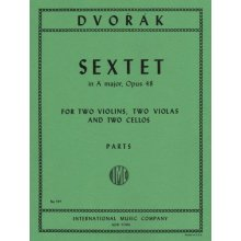 DVORAK A. Sextet in A major Op.48