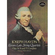 HAYDN F.J. Eleven Late String Quartets Op.74, 76, 77