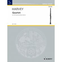 HARVEY P. Quartet for Clarinets and Bass Clarinet