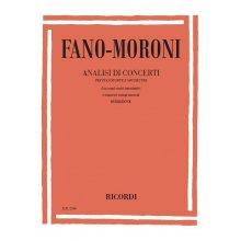 FANO-MORONI Analisi di Concerti per Pianoforte e Orchestra