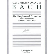 BACH C.P. Six Keyboard Sonatas (Vol.1)