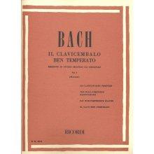 BACH J.S. Il Clavicembalo ben Temperato (vol.I) Montani