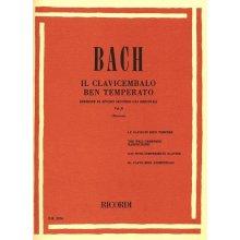 BACH J.S. Il Clavicembalo ben Temperato (vol.II) Montani